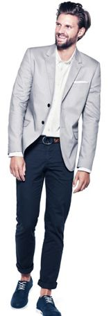 Grey blazer H