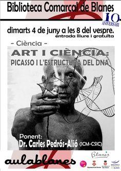 Art i Ciència: Picasso, l'estructura del DNA