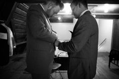 Camp Lane Wedding, groom getting ready, black and white photography, candid photography, photojournalism photography