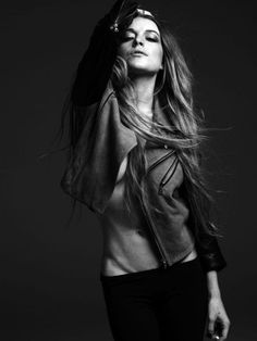 Lindsay Lohan by Hedi Slimane 1