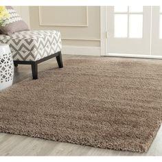 Safavieh Milan Shag Dark Beige Rug (10' x 14') | Overstock.com Shopping - Great Deals on Safavieh 7x9 - 10x14 Rugs
