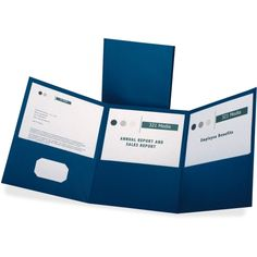 Mr Case Supplier of Oxford Tri-Fold Pocket Folders delivery to your home or office in Toronto, Ontario, Canada. comes in a case of Letter - 8 Width x Length Sheet Size - 150 Sheet Capacity - 3 Pockets - Paper - Blue - 20 / Box