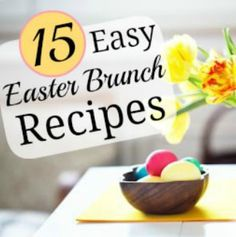 Quick and Healthy Easter Brunch Ideas   via @SparkPeople #food #recipe #breakfast #spring
