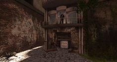 https://flic.kr/p/CU8JtF | brick and vine | Vimmershavn: Binmust, Second Life maps.secondlife.com/secondlife/Binemust/93/141/903