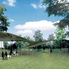 The Serpentine Gallery Pavilion 2009 by SANAA
