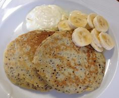 Recipe Quinoa pancakes by seasonal thermomixing, learn to make this recipe easily in your kitchen machine and discover other Thermomix recipes in Basics. Quinoa Pancakes, Bellini Recipe, Vegetarian Eggs, Sweet Breakfast, Gluten Free, Snacks, Healthy, Ethnic Recipes, Thumbnail Image