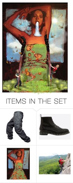 """""""Rapunzel Hill"""" by donna-france-davis ❤ liked on Polyvore featuring art"""