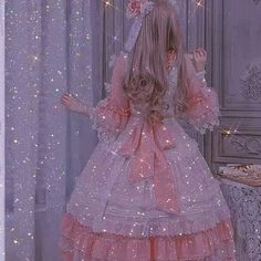 Lavender Aesthetic, Queen Aesthetic, Blue Aesthetic Pastel, Princess Aesthetic, Sky Aesthetic, Aesthetic Colors, Glitter Photography, Fairytale Dress, Pastel Pink
