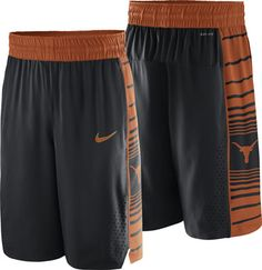 Texas Longhorns Nike Authentic Basketball Shorts