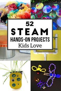 Hands on STEAM activities for kids