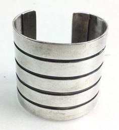 Frank Patania Sterling Silver Cuff Bracelet DEC 31, 2016