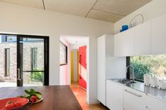 A Granny Flat Doesn't Need to Be a Caravan-Sized Blob in the Backyard Studios Architecture, Modern Architecture, Kitchen Island Bench, Recycled Brick, Passive Design, Compact House, Contemporary House Plans, Shed Homes, Granny Flat