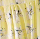 Yellow Sleeveless Bandeau Floral Sundress - Sheinside.com