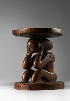 Buy online, view images and see past prices for CHOKWE STOOL. Invaluable is the world's largest marketplace for art, antiques, and collectibles. African Sculptures, Congo, African Art, Sculpture Art, Art Reference, Decorative Bowls, Two By Two, Stool, Auction