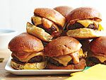 Bobby Flay's Sliders with Chipotle Mayonnaise