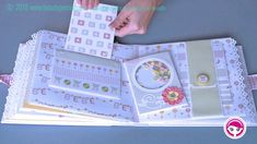 Mini Albums Scrap, Mini Scrapbook Albums, Baby Scrapbook, Diy Baby Album Ideas, Diy Paper, Paper Crafts, Baby Mini Album, Diy Crafts For Girls, Album Design