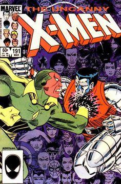 Uncanny X-Men # 191 by John Romita Jr. & Dan Green
