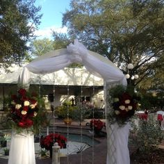 Design Your Own Beach Wedding Or Choose Our Affordable Packages Cherished Ceremonies Weddings At Ybor Garden Museum Tampa