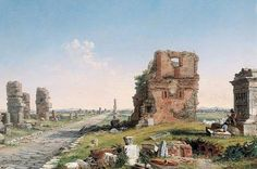 Conrad Wise Chapman - Via Appia (Appian Way)