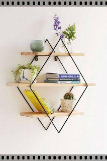 desain rak dinding unik | Kumpulan Desain minimalis interior rumah