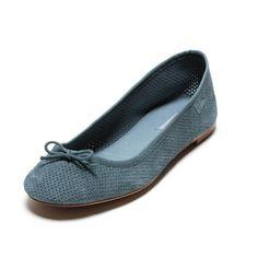 Blue flats from Bimba&Lola #shoes, #blue, #bimbaylola, #flats, #ballerinas