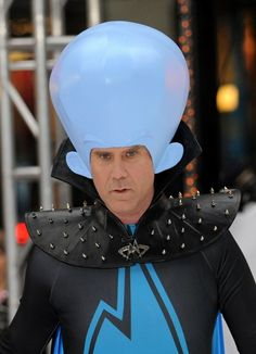 Will Ferrell is Megamind!