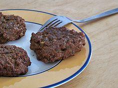 hamburguesas de lenteja y arroz anticolesterol