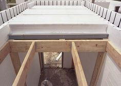 Builddeck icf safe room roof icf construction for Icf concrete roof