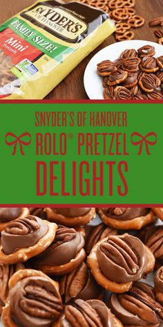 The weather outside is frightful and these Rolo Pretzel Delights are delicious. Christmas Snacks, Holiday Treats, Holiday Recipes, Christmas Candy, Christmas Recipes, Christmas Cookies, Candy Recipes, Cookie Recipes, Dessert Recipes