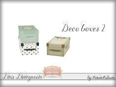 ArwenKaboom's Lina Livingroom - Deco Box 2