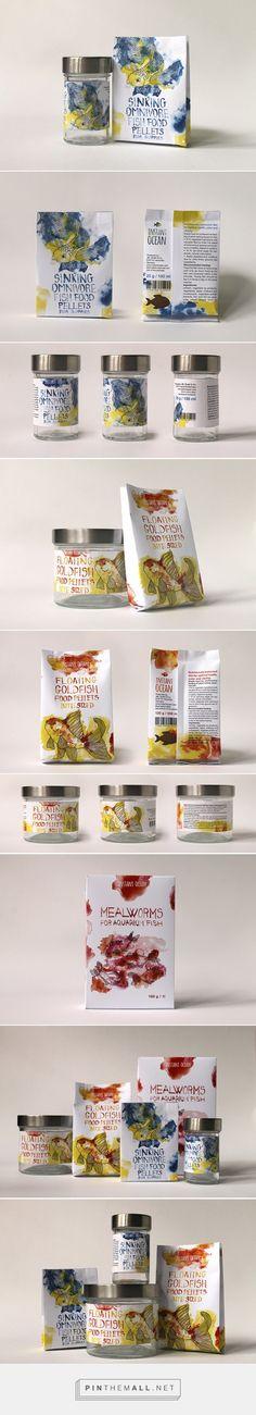 Aquarium Fish Food by Zsófi Paszternák. Pin curated by #SFields99 #packaging #design
