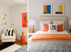tangerine for a teen (by Lynn Morgan Design)