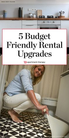 Real Life Rental Upgrades That Happened in a Weekend (or Less). Real Life Rental Upgrades That Happened in a Weekend (or Less). Refresh your space without busting your budget. Rental Home Decor, Rental Decorating, Decorating Tips, Apartments Decorating, Trendy Home Decor, Cheap Home Decor, Diy Home Decor On A Budget, Apartment Therapy, Home Renovation