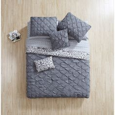 Vcny Home Cane Bed in a Bag Set