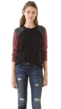 Super Cute Dual Jersey Pullover from Raquel Allegra