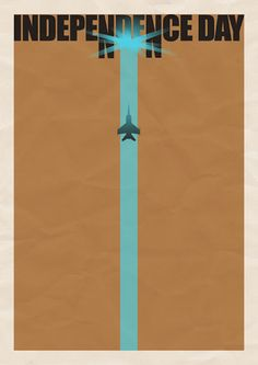 Independence Day - Minimal Film Posters