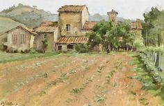 Clark Hulings Bordeaux Farm Lot 39 | eBay
