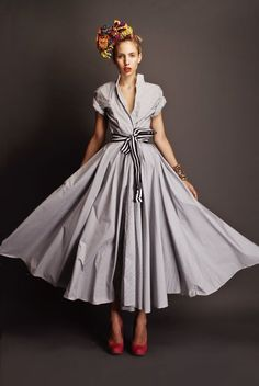 anotherboheminan: (via Stella Jean dress. )