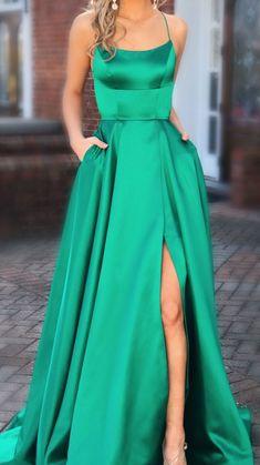 Green Formal Dresses, Winter Formal Dresses, Dresses Short, Cheap Evening Dresses, Backless Prom Dresses, Dress Winter, Dress Prom, Dress Formal, Dresses For Formal