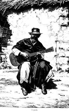 gaucho guitarra criolla - Buscar con Google