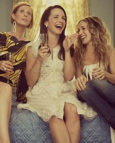 Cheers to the ladies of SATC - follow us on www.birdaria.com like it love it share it click it pin it!!!