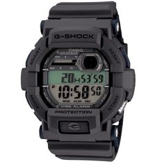 New Casio Mens G-Shock GD350-8 Digital Vibration Shock Resistant Watch Grey