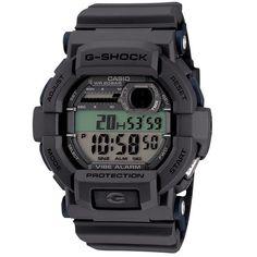 New Casio Mens G-Shock GD350-8 Digital Vibration Shock Resistant Watch Grey