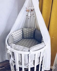 Discover more amazing kids' nurseries ideas with Circu Magical Furniture! Go t… Discover more amazing kids' nurseries ideas with Circu. Baby Boy Rooms, Baby Bedroom, Baby Room Decor, Baby Boy Nurseries, Baby Cribs, Triplets Nursery, Baby Nursery Furniture, Nursery Room, Baby Room Design