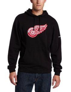 NHL Men's Detroit Red Wings Playbook Hood
