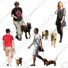 People Walking For Photoshop 40% complete (success)