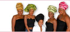 """Headwraps or """"Geles"""" from Nigeria"""
