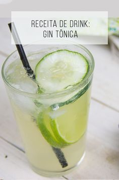 The Gin Story: Learn a little more about this distillate and learn a tasty drink recipe from it! Juice Drinks, Drinks Alcohol Recipes, Yummy Drinks, Healthy Starbucks Drinks, Healthy Drinks, Bebida Gin, Alcoholic Cocktails, Liqueur, Portuguese Recipes