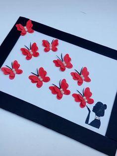 Diy Crafts To Do, Paper Flowers Craft, Newspaper Crafts, Paper Crafts Origami, Diy Crafts Hacks, Paper Crafts For Kids, Craft Stick Crafts, Diy Paper, Wall Decor Crafts