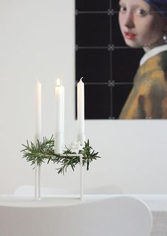 What is your advent tradition? In Scandinavia we have a lovely tradition of lighting one candle each of the four Sundays of advent. This Kubus candle holder from by Lassen is just as nice to use all year long, but fits perfectly for advent time too! French Christmas, Noel Christmas, Scandinavian Christmas, Winter Christmas, Xmas Holidays, Indoor Wreath, Yule, Advent Candles, Deco Addict